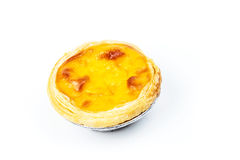 Portuguese Egg Tarts Stock Photo