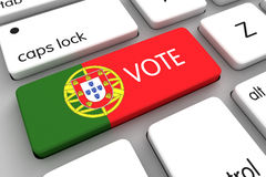 Portuguese Elections 2016 Royalty Free Stock Photography