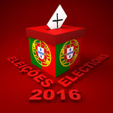 Portuguese Elections 2016 Royalty Free Stock Image
