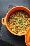 Portuguese feijoada de marisco bean and seafood traditonal stew stock photo