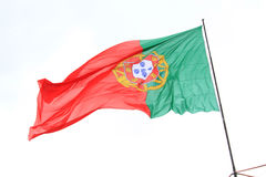 Portuguese flag Stock Photography