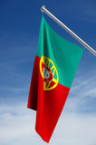 Portuguese Flag Royalty Free Stock Photos