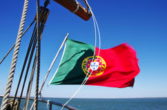 Portuguese flag Stock Images