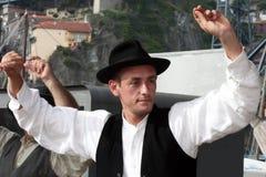 Portuguese Folklore Dancer Stock Image