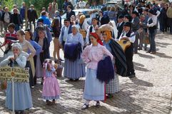 Portuguese folkloric ranch Royalty Free Stock Photography