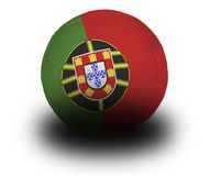 Portuguese Football Royalty Free Stock Photo