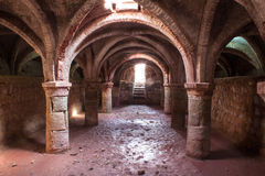 Portuguese fortress on Hormoz island Royalty Free Stock Image