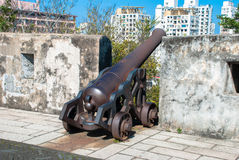 Portuguese fortress Royalty Free Stock Images