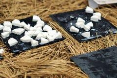 Portuguese fresh cheese Royalty Free Stock Photos