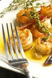 Portuguese Garlic Shrimp Royalty Free Stock Image