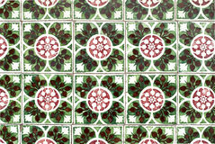 Portuguese glazed tiles 039 Royalty Free Stock Photos