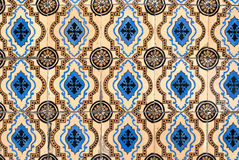 Portuguese glazed tiles 045 stock photo