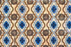 Portuguese glazed tiles 045 Stock Photo