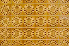 Portuguese glazed tiles 058 Stock Photography