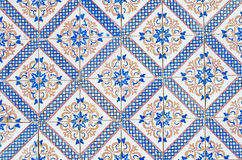 Portuguese glazed tiles 064 Stock Image