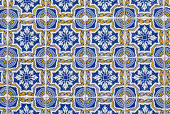 Portuguese glazed tiles 068 Stock Images
