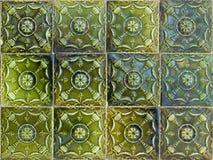 Portuguese glazed tiles 071 Royalty Free Stock Photos