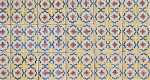 Portuguese glazed tiles 072 Royalty Free Stock Photo