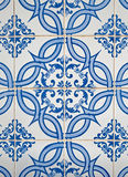 Portuguese glazed tiles. Royalty Free Stock Photos