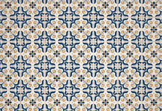 Portuguese glazed tiles. Royalty Free Stock Image