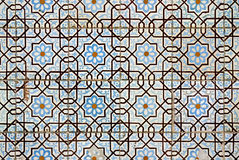 Portuguese glazed tiles Stock Photography