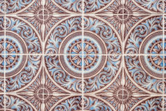 Portuguese glazed tiles 231 Royalty Free Stock Image