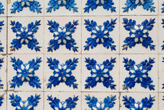 Portuguese glazed tiles 235 Royalty Free Stock Photos
