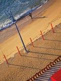 Portuguese golden coast beach Royalty Free Stock Photo