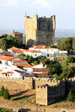 Portuguese historical fortress Braganca Royalty Free Stock Images