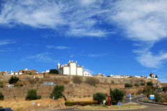 Portuguese historical fortress of Monsaraz Stock Photography