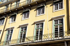 Portuguese house. A beautiful traditional Portuguese house Royalty Free Stock Photo