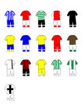Portuguese League Clubs Kits 2013-14 Stock Image