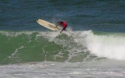 Portuguese Longboard Championship, Joao Brogueira Stock Images