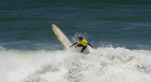 Portuguese Longboard Championship, Jorge Silva Stock Photography