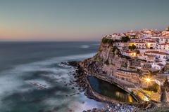 Portuguese maritime town Azenhas do Mar. Royalty Free Stock Photography