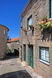 Portuguese medieval village Monsanto, Portugal Stock Photos