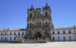 Portuguese monastery stock image