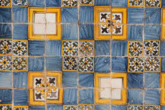 Portuguese mosaic. The picture of portugues mosaic azulejo royalty free stock image