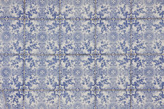 Portuguese mosaic. The picture of portuguese mosaic azulejo stock photo