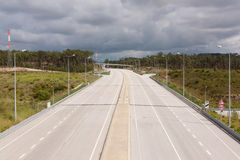 Portuguese Motorway Royalty Free Stock Image