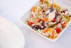 Portuguese Octopus. Prepared dish of octopus Portuguese Stock Image