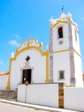 Portuguese parish church stock image