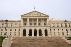 The Portuguese Parliament Stock Photography