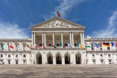 Portuguese Parliament Royalty Free Stock Photography