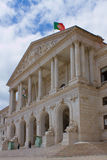 Portuguese Parliament in Lisbon Stock Photography