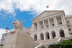 The portuguese Parliament Stock Image
