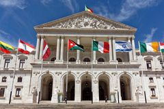 Portuguese Parliament Royalty Free Stock Image