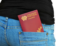 Portuguese Passport Royalty Free Stock Photos