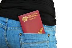 Portuguese Passport Royalty Free Stock Photos