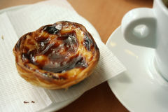 Portuguese pastry Stock Photos